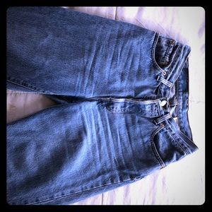 Vintage High Waisted Levi's 501's from 1980's